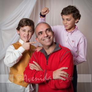 Alfonso con Jesús y Pablo