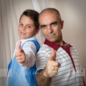 Aarón y Alfonso
