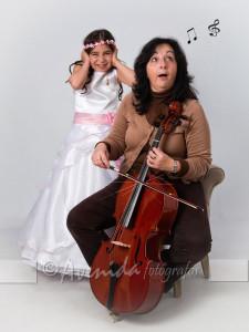 Ainhoa con Raquel