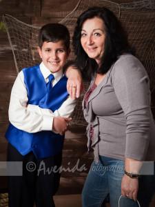 Alejandro con Raquel