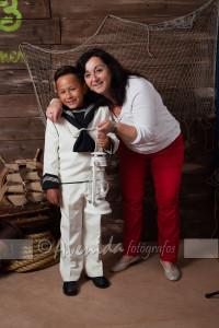 Juan Pablo con Raquel