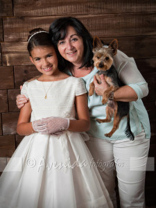 Lidia con Raquel