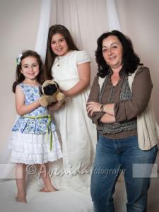 Lucía con Raquel