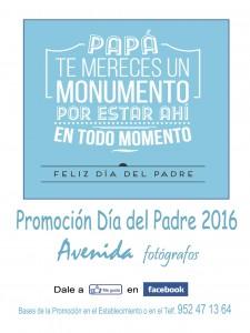 Cartel Día del Padre 2016