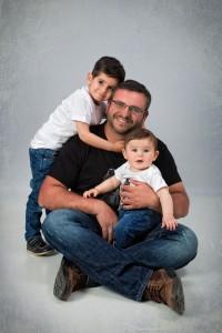Rodrigo, Gonzalo y Papi