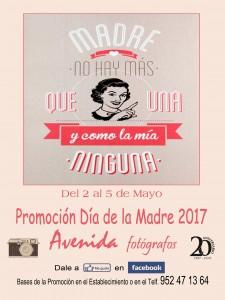 Cartel Día de la Madre 2017 mejorado face