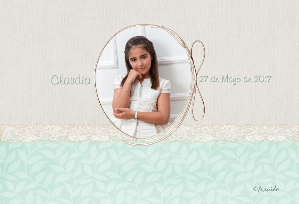 Tapa caja Claudia