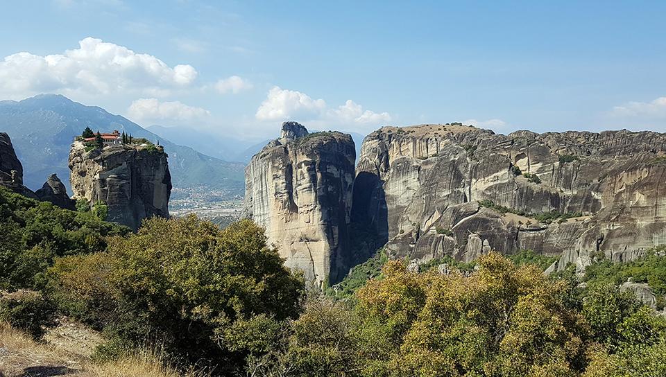 Monasterios en Meteora (Grecia)