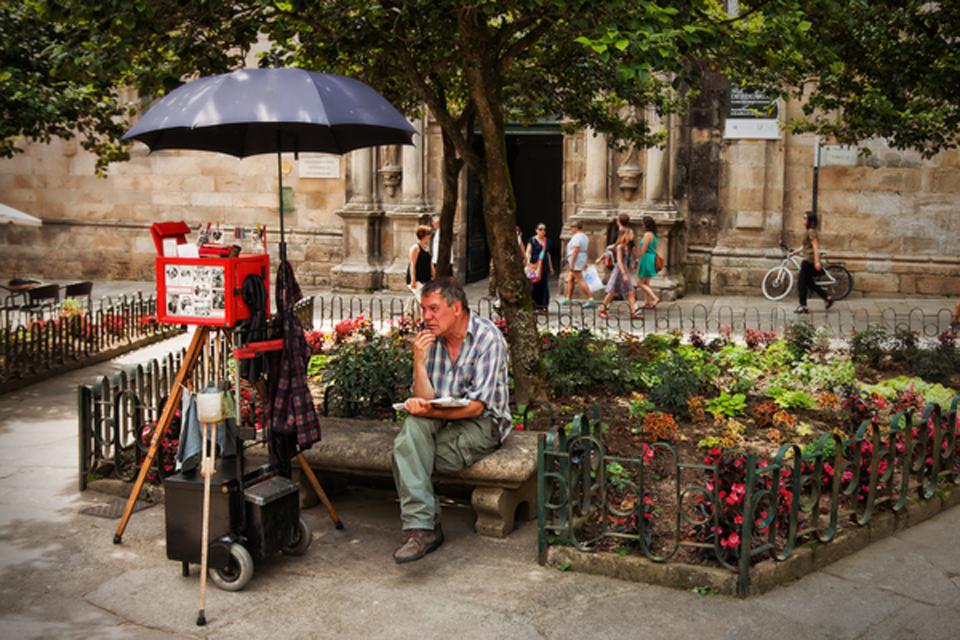 Pensando (Santiago de Compostela)A