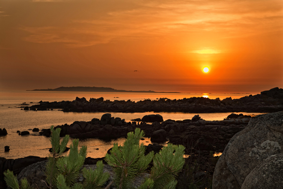 Puesta de sol (San Vicente del Mar)